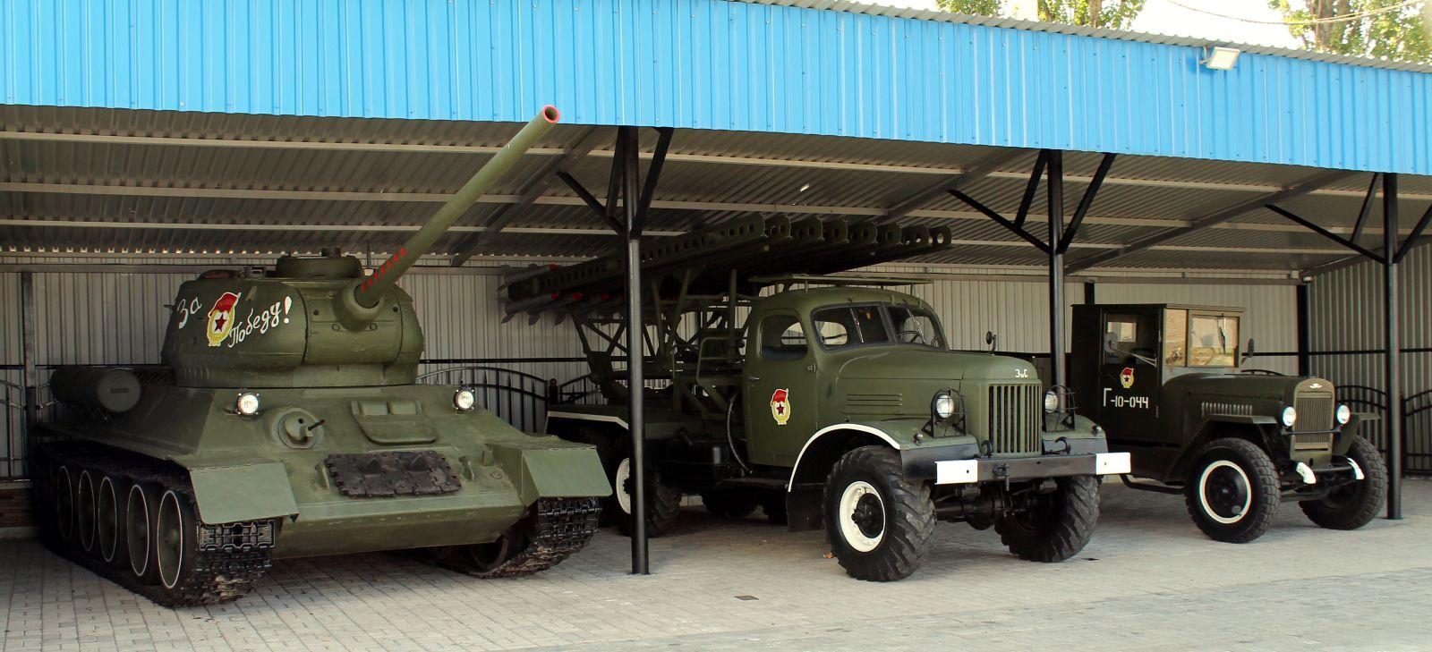 Музей военной техники времен ВОВ на КАМАЗ ЦЕНТРЕ